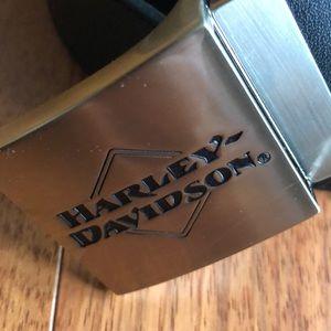 Harley-Davidson reversible leather belt size M